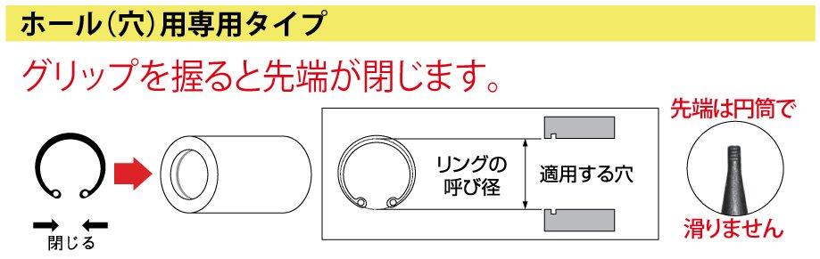 ホール(穴)用専用タイプ-3