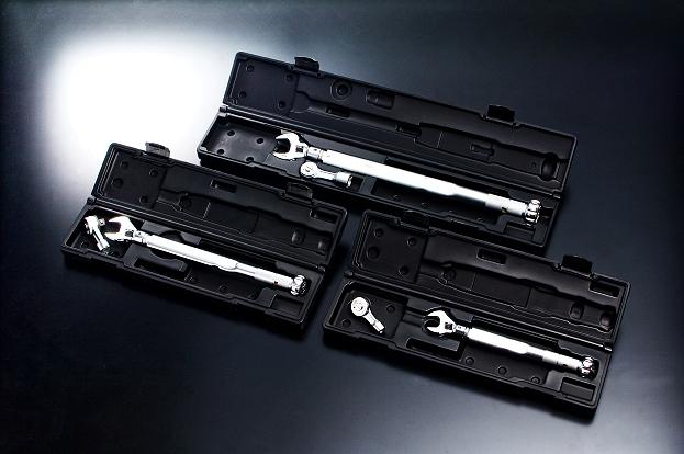モンキ形/ラチェット形トルクレンチセット(ケース付)