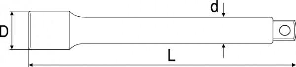 絶縁エクステンションバーの図面