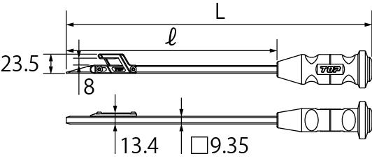 ボイド管カッターの図面