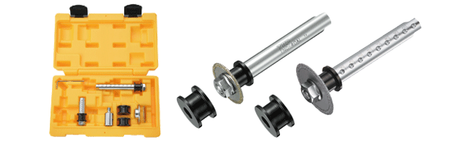 塩ビ管内径カッター用ディスクグラインダーセット