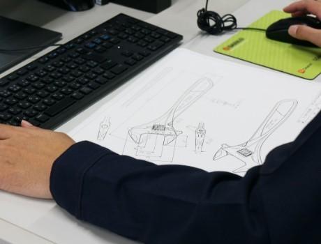 [写真]開発設計の現場