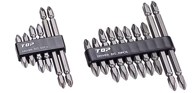 電動ドリル用ドライバビットセット